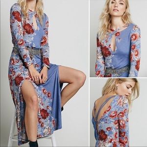 Free People Slice of Heaven Floral Maxi Dress